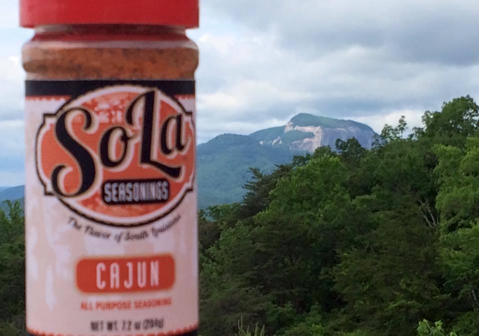 cajun seasoning, cajun spice, hot seasoning, hot spice, SoLa Cajun Seasoning